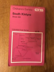 Ordnance-Survey-Map-Sheet-68-South-Kintyre