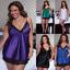 Plus-Size-Women-Lace-Lingerie-Robe-Dress-Babydoll-Nightgown-Sleepwear-Nightdress thumbnail 2