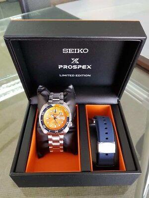 on sale 991a2 3a5aa Seiko Prospex Orange Turtle SRPC95K1 Asia Limited Edition Roma/Eng | eBay
