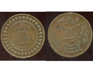 Initiative Tunisie 10 Centimes 1911 Marchandises De Proximité