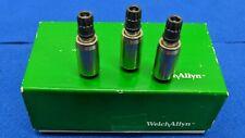 Set Of 3 Welch Allyn 608125 501 Hpx Lamp Cartridge Assy