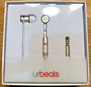Beats-by-Dr-Dre-urBeats-In-ear-Headphones-Gold-New-In-Box-Special-Edition