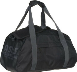 52e3349537 Image is loading Asics-Training-Essentials-Gymbag-Black