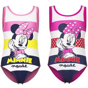Disney-Minnie-Maus-Baby-Badeanzug-rosa-pink-Gr-68-74-80-86