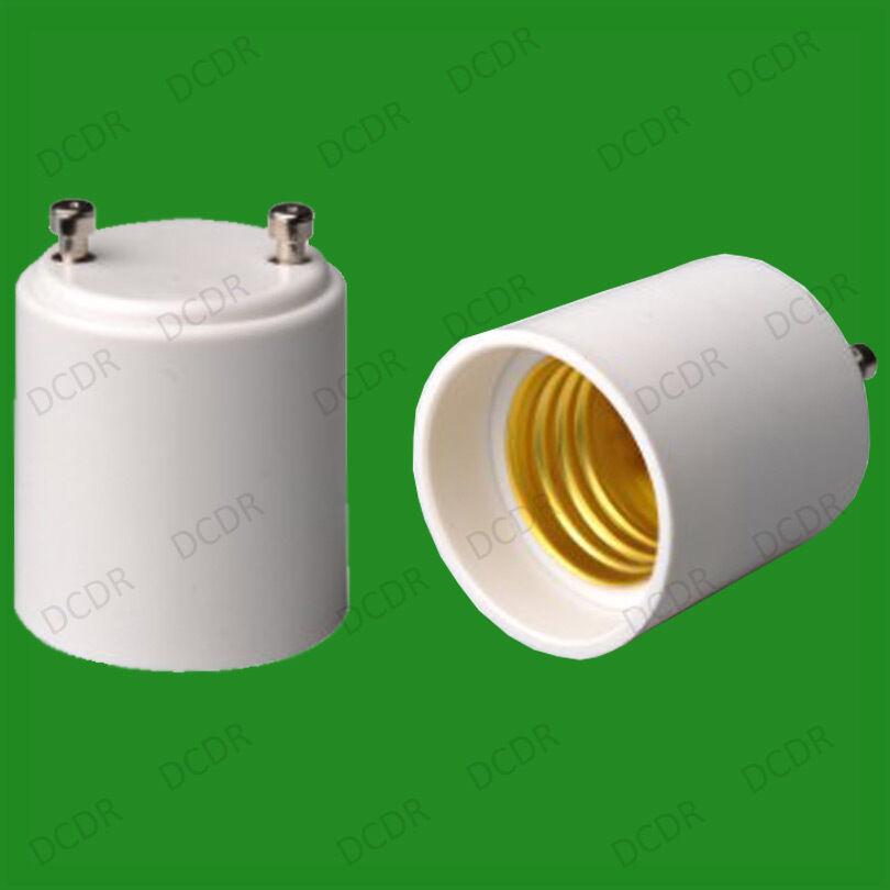 50x GU24 a E27 E26 ES Rosca Edison Bombilla Adaptador Enchufe Converdeidor titular
