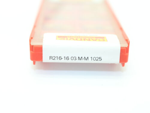 Sandvik  10P R216-1603M-M 1025 CNC Carbide Turning Insert