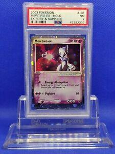 Mewtwo-EX-PSA-7-NM-2003-EX-Ruby-amp-Sapphire-101-Pokemon
