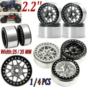 2.2/'/' Alloy Beadlock Wheel Rim For RC Crawler 1//10 AXIAL Wraith SCX10 D90 TRX-4