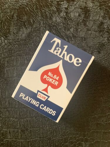 Dan /& Dave Tahoe Playing Cards ULTRA RARE limited Edition Blue Seal!