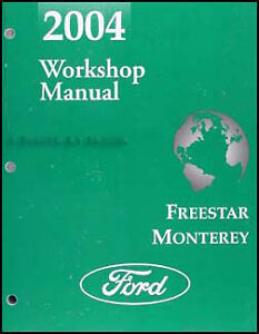 2001 ford taurus mercury sable wiring diagram manual original