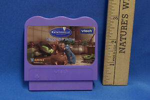 Vtech-V-Tech-Smile-Ratatouille-Game-Cartridge-Remys-New-Recipes-Math-Spelling