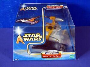 STAR WARS Micro Machines Action Fleet NABOO N-1 STARFIGHTER ~ 2002 Hasbro ~ NEW