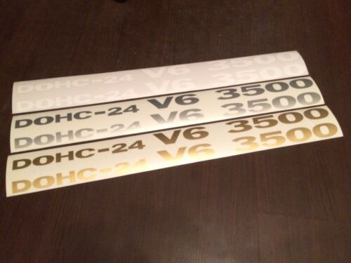 Mitsubishi Pajero Dohc 24 V6 3500 decals stickers graphics logo set kit