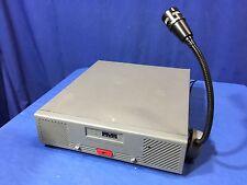 Motorola Dispatch RADIO BASE STATION Centracom Gold Series Shure VR300 Mic Right