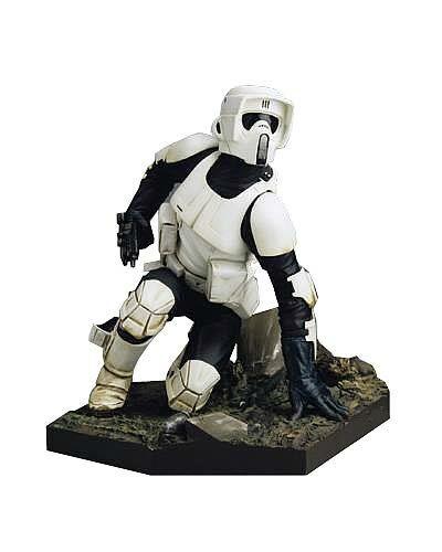 ¡No dudes! ¡Compra ahora! Estrella Wars Wars Wars SCOUT TROOPER Kotobukiya Statue - SOLD OUT - RARE  suministro directo de los fabricantes