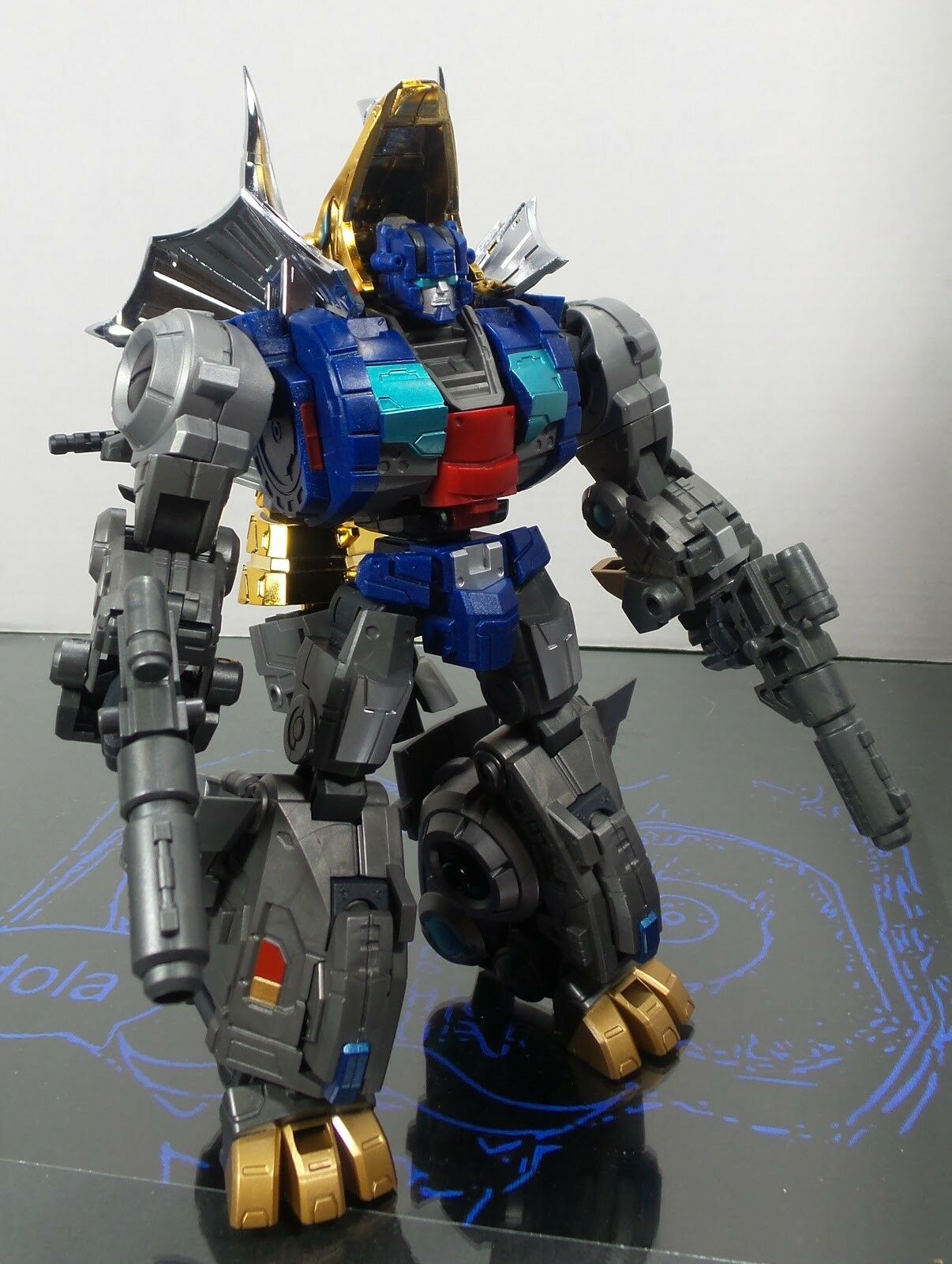 Transformadores Fansproject Diaclone Dinobots G1 Custom tercero cubrar escoria