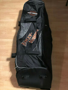 Embroidered Golf Travel Bag Black