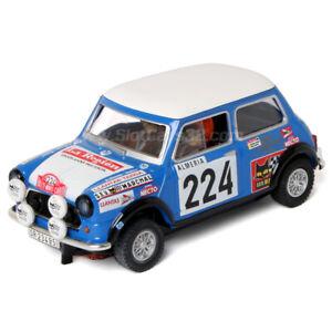 Slot-Car-Scalextric-mini-Cooper-Reverter-Montecarlo-224-SCX-1-32-A10193