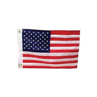 "SeaChoice 12/"" x 18/"" Deluxe Sewn United States American Nylon Flag Boat 78211"