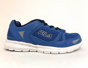 quality design ce449 90127 Image is loading FILA-Kids-039-SYNERGY-Running-Shoes-Blue-3SR20247-