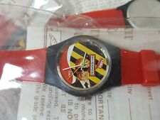 1986 Max Headroom Red 80's Coca-Cola Watch New in Package Vintage 80s 90s