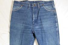 Wrangler 13MWZ ? Faded Denim Jeans Measure Size 36x32.5 Cowboy