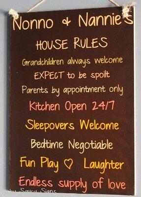 Grandparents House Rules Black Love All Kids Nonno Nannies ...