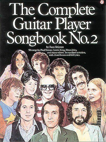 1 of 1 - The Complete Guitar Player: Songbook No.2: 50 songs Paul Simon Elton John, etc