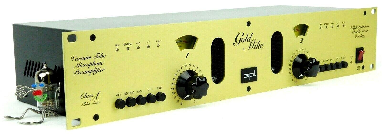 SPL Goldmice 9844 Dual Tube Mic Preamp Class - A Tube OVP MINT 2J Garantie