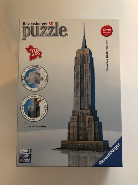 Ravensburger  - 3d Puzzle Empire State Building- Neu