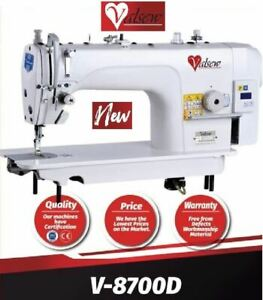 Lockstitch Direct Drive Industrial Sewing Machine High-Speed Single Needle DIY.