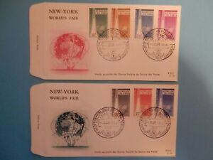 STAMPS-CONGO-FDC-34-35-NEW-YORK-WORLD-039-S-FAIR-1965