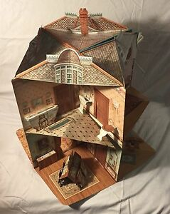 Pop Up Victorian Dollhouse Book Great Detail Never Used 3 D With
