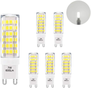 Super Bright 7W G9 GU9 Miniature LED Light Bulbs Capsule Corn Lamp Bulbs Cool G9