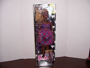 Barbie Fashionistas 57 Zig Zag African American Doll Curvy AA Black Girl New - Jackson, Michigan, United States - Barbie Fashionistas 57 Zig Zag African American Doll Curvy AA Black Girl New - Jackson, Michigan, United States