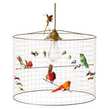 La Voliere Petite Bird Cage Pendant by Mathieu Challières