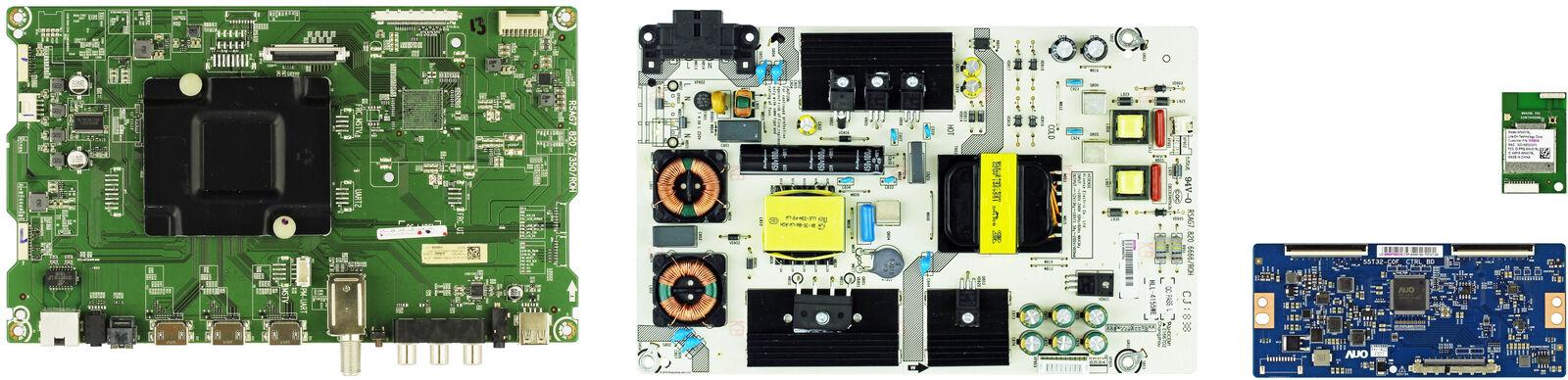 Complete LED TV Repair Parts Kit for Hisense 50CU6000
