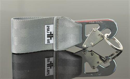 Schlüsselanhänger by FlapsFive  aus original LH A340 Safety Belt