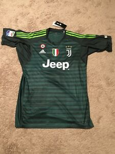 new product 35f6b 43c6e Details about Gianluigi Buffon Juventus Final Match Adidas Jersey With  #UN1CO Patch (Size XL)