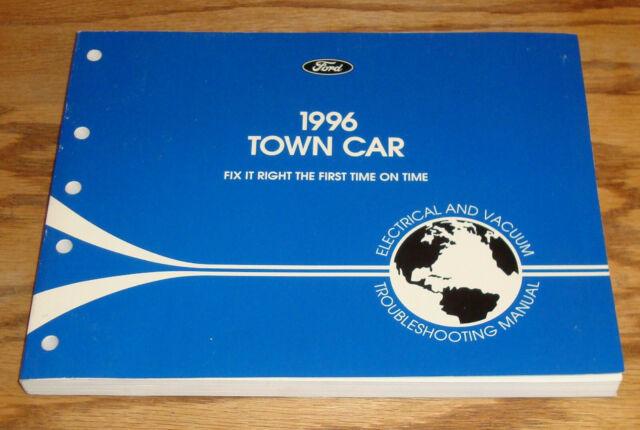 Original 1996 Lincoln Town Car Wiring Diagrams Evtm Manual