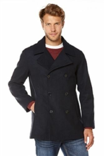 MensThomas Gee PEA Coat Colour Navy Size Large BRAND NEW WITH TAG