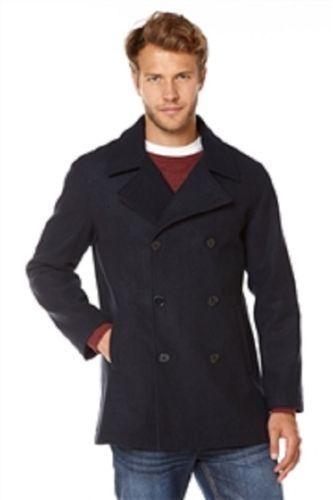 MensThomas Gee PEA Coat Colour Navy Größe Large BRAND BRAND BRAND NEW WITH TAG | Clever und praktisch  4e9493