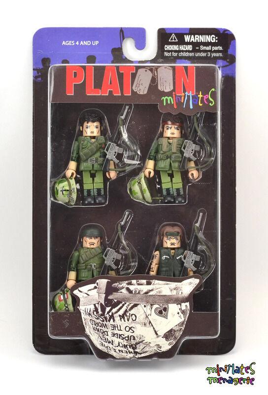 Zug Minimates Box Set ( Sgt. Barnes, Sgt. Grodin, Pvt. Lerner & Pvt. Taylor)