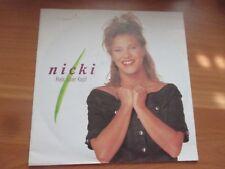 80er Jahre - Nicki - Hals über Kopf