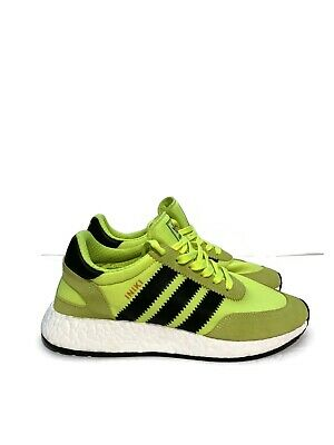best cheap great fit clearance prices Men's Adidas OG Iniki Boost Runner Solar Yellow Black Neon BB2094 I-5923  Size 6 | eBay