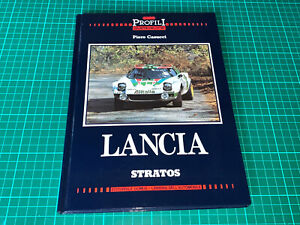 BOOK PIERO CASUCCI LANCIA STRATOS HF FULL HISTORY RALLY PROFILI ALEN RORHL WRC