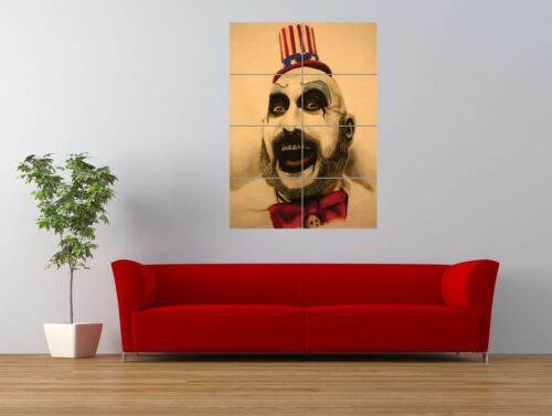 Captain Spaulding The Devils Rejects Giant Wall Art Poster Print