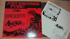 The Attacked/The Spiky Joys/Just Another Punk Split LP 1999/JAP Punk Virus GBH