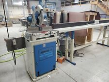Omga T50 350 Precision Mitre Saw With Vacuum Cabinet Amp 12 Omga Auto Stop