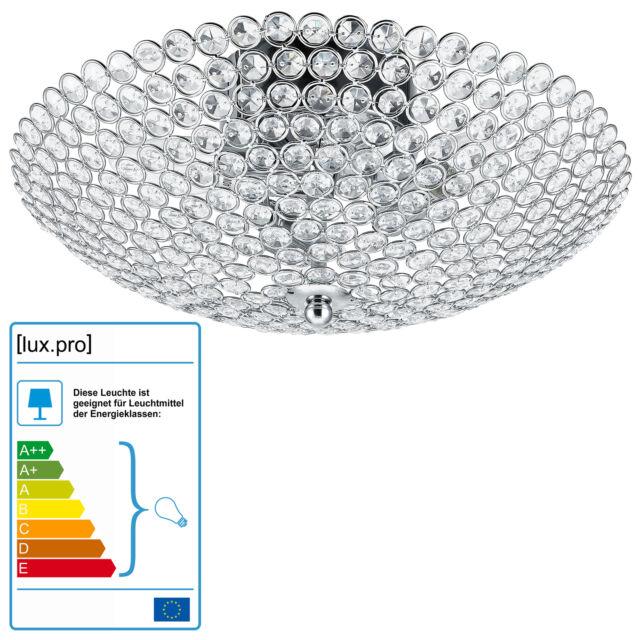 Cristal Lámpara de Techo 3-flam Ø 40 cm] Araña Habitación